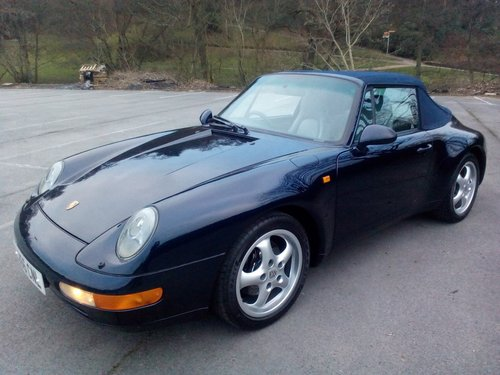 1994 Porsche 993 Carrera 2 Cabriolet SOLD (picture 5 of 6)