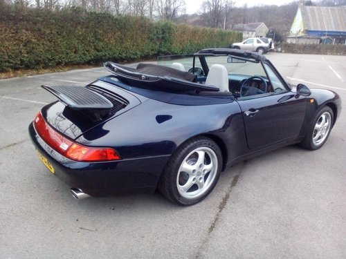 1994 Porsche 993 Carrera 2 Cabriolet SOLD (picture 6 of 6)