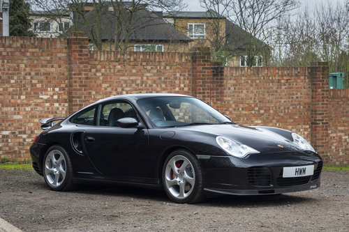 PORSCHE 911 (996) TURBO COUPE TIPTRONIC S  2002 For Sale (picture 1 of 6)