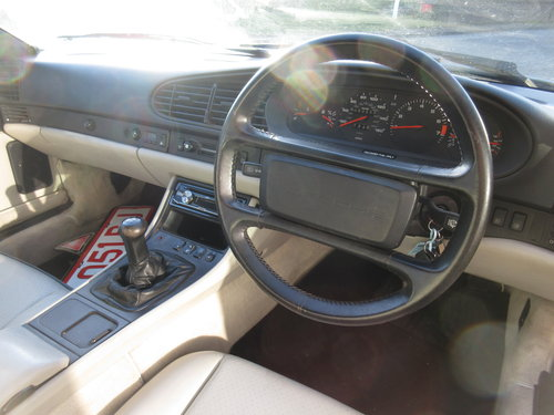 Porsche 944 S2 Manual 3.0 Convertible 1990 For Sale (picture 3 of 6)