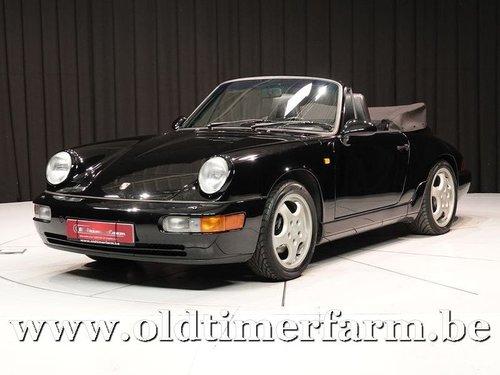 1990 Porsche 911 964 Carrera 4 Cabriolet '90 For Sale (picture 1 of 6)