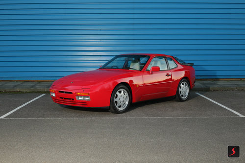 1989 Porsche 944 S2 Guards Red For Sale Car And Classic