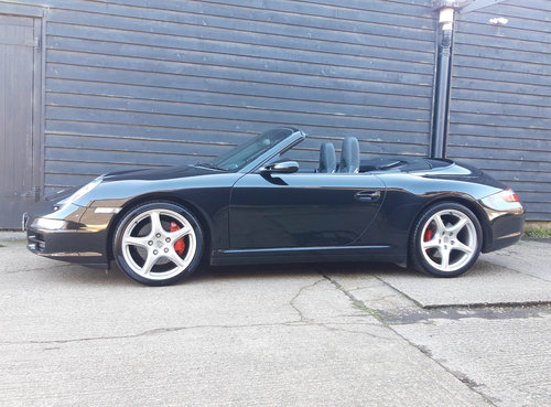 2007 PORSCHE 911/997 3.8 CARRERA 4S CONVERTIBLE ( Wide Body )  SOLD (picture 1 of 6)