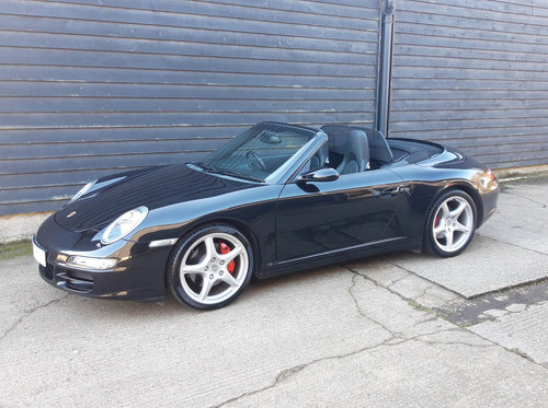2007 PORSCHE 911/997 3.8 CARRERA 4S CONVERTIBLE ( Wide Body )  SOLD (picture 3 of 6)