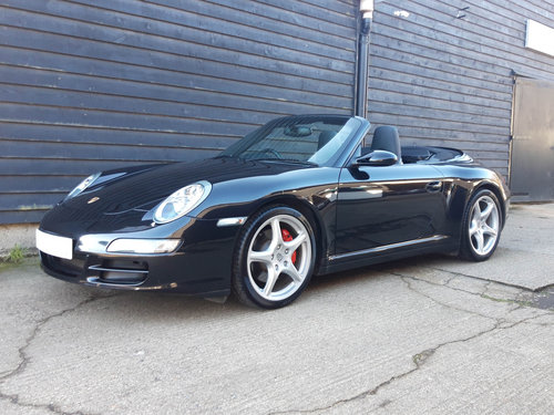 2007 PORSCHE 911/997 3.8 CARRERA 4S CONVERTIBLE ( Wide Body )  SOLD (picture 4 of 6)