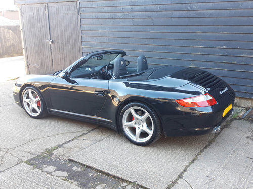 2007 PORSCHE 911/997 3.8 CARRERA 4S CONVERTIBLE ( Wide Body )  SOLD (picture 5 of 6)