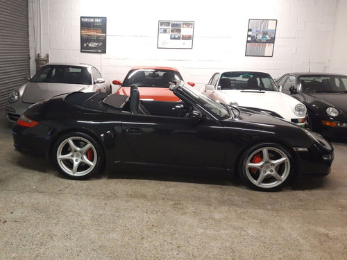 2007 PORSCHE 911/997 3.8 CARRERA 4S CONVERTIBLE ( Wide Body )  SOLD (picture 6 of 6)