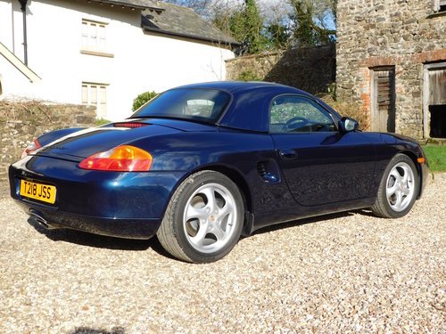 1999 Porsche Boxster 2.5 manual - 16k miles, 2 owners, incredible For Sale (picture 2 of 6)