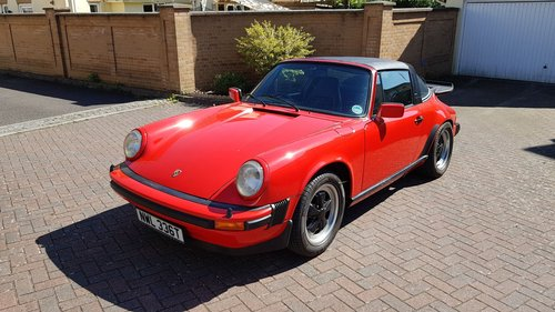 1978 PORSCHE 911SC SPORT TARGA  911 SC  For Sale (picture 1 of 6)
