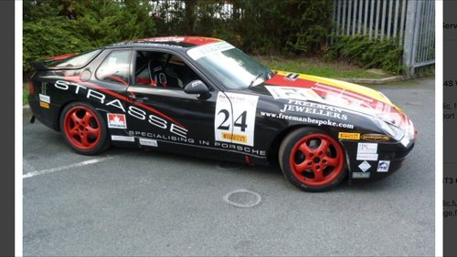 Porsche 968 Racing Car 1994 For Sale (picture 6 of 6)