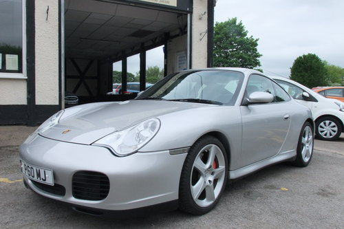 2004 PORSCHE 911 3.6 CARRERA 4 TIPTRONIC S 2DR AUTOMATIC For Sale (picture 1 of 6)