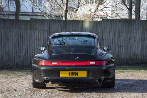 1997- PORSCHE 993 CARRERA 2 S COUPE TIPTRONIC (BLACK METALLI For Sale (picture 3 of 6)
