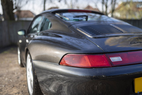 1997- PORSCHE 993 CARRERA 2 S COUPE TIPTRONIC (BLACK METALLI For Sale (picture 4 of 6)
