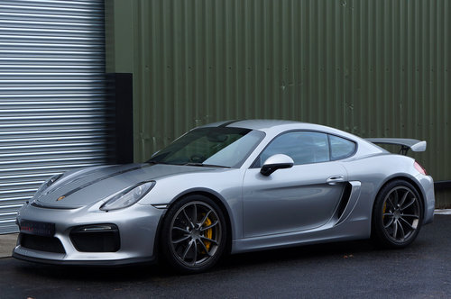 2015 Porsche Cayman GT4, 6000miles, GT Silver, Ceramic's, Buckets SOLD (picture 3 of 6)