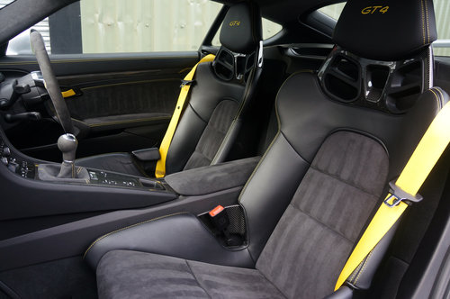 2015 Porsche Cayman GT4, 6000miles, GT Silver, Ceramic's, Buckets SOLD (picture 5 of 6)