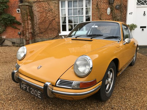 1967 Swb Porsche 912 Sold Car And Classic