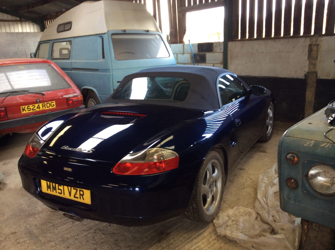 2001 3.2 S Boxster Tiptronic SOLD (picture 2 of 5)
