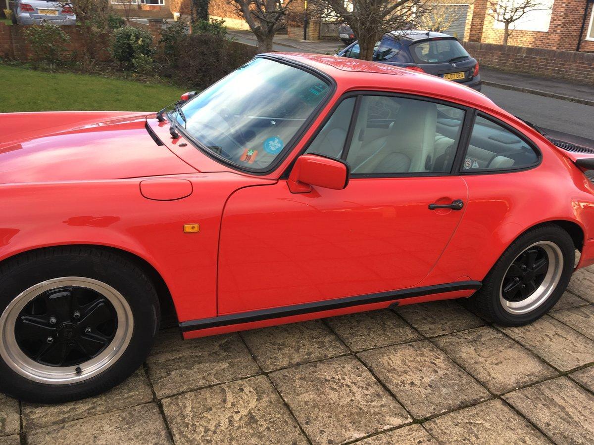 1987 Porsche 911 carrera SOLD (picture 2 of 6)