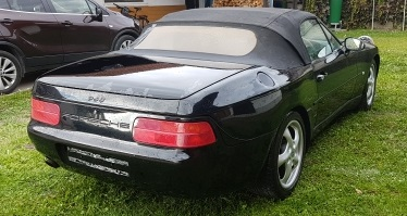 1993 Rare 6 speed manual 968 Convertible with UK spec. For Sale (picture 2 of 6)