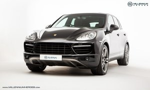 2012 PORSCHE CAYENNE TURBO // CERAMIC BRAKES // DYNAMIC CHASSIS SOLD
