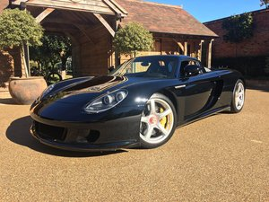 2005 Porsche Carrera GT: 16 Feb 2019 For Sale by Auction