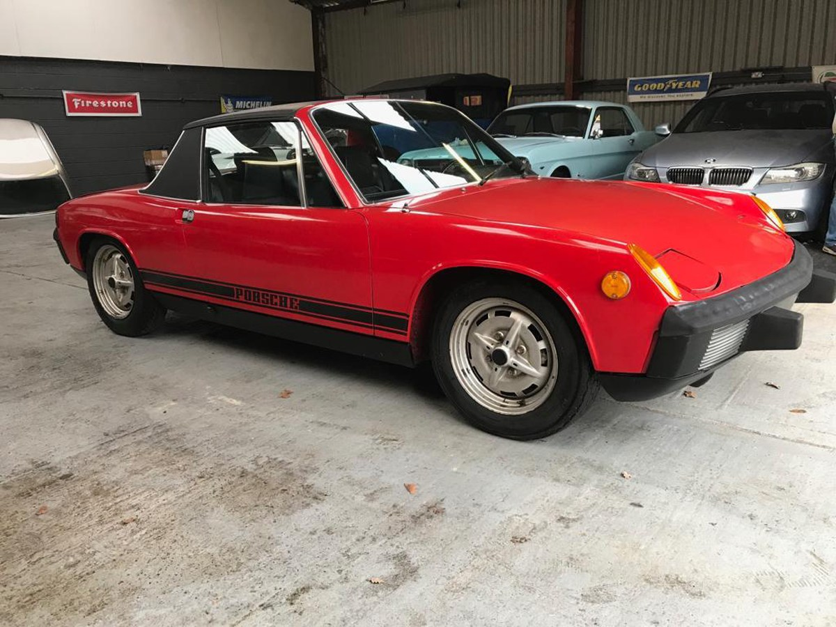 1974 Porsche 914: 16 Feb 2019 For Sale by Auction (picture 1 of 3)