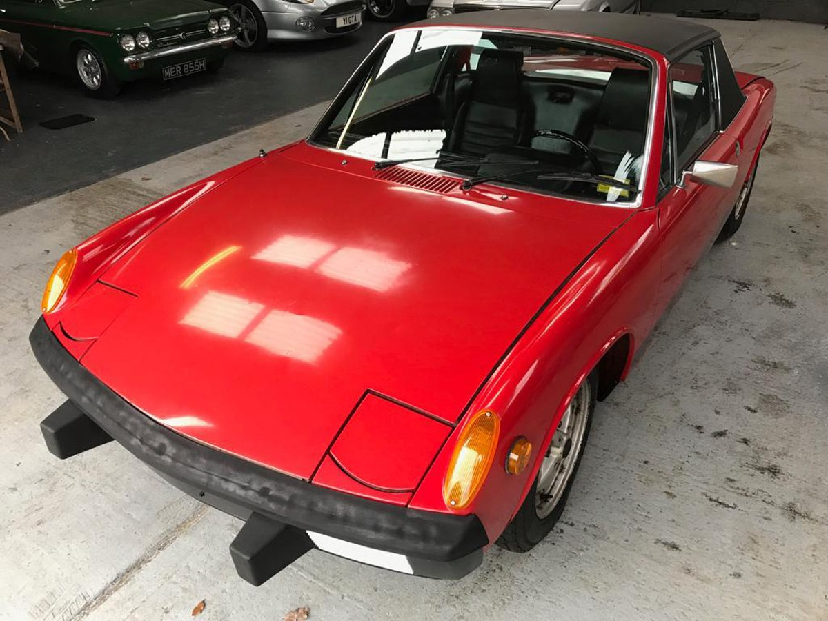 1974 Porsche 914: 16 Feb 2019 For Sale by Auction (picture 3 of 3)