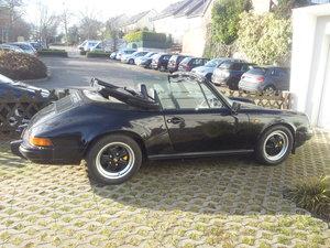 Porsche 911 Cabrio 3.2  1984 For Sale