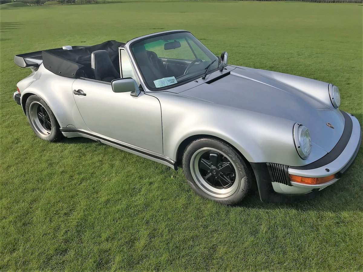 1989 Porsche Turbo Cabriolet LHD Full History - Immaculate For Sale (picture 1 of 6)