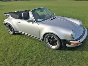 1989 Porsche Turbo Cabriolet LHD Full History - Immaculate For Sale