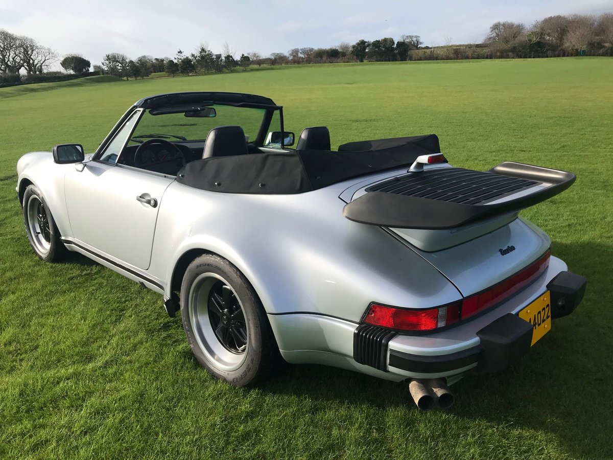 1989 Porsche Turbo Cabriolet LHD Full History - Immaculate For Sale (picture 2 of 6)