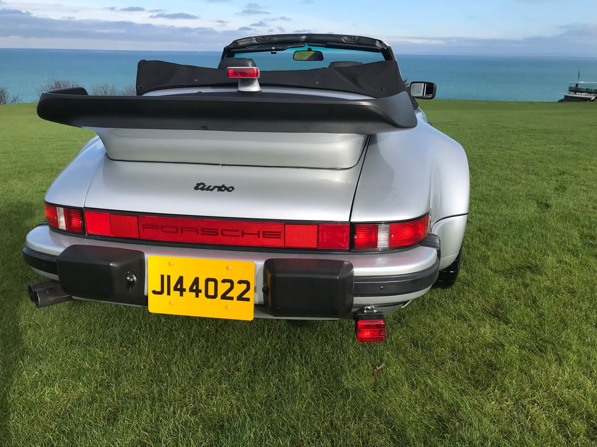 1989 Porsche Turbo Cabriolet LHD Full History - Immaculate For Sale (picture 3 of 6)