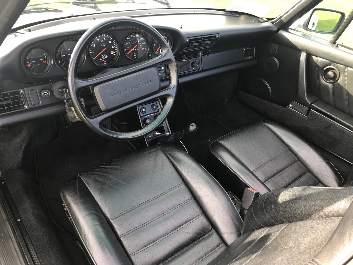 1989 Porsche Turbo Cabriolet LHD Full History - Immaculate For Sale (picture 5 of 6)