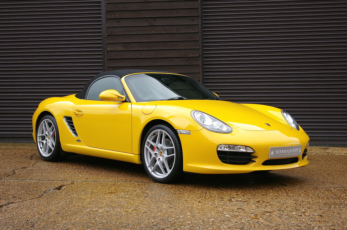 2010 Porsche 987 Boxster S 3.4 24V 6 Speed Manual (27,323 miles) SOLD (picture 1 of 6)