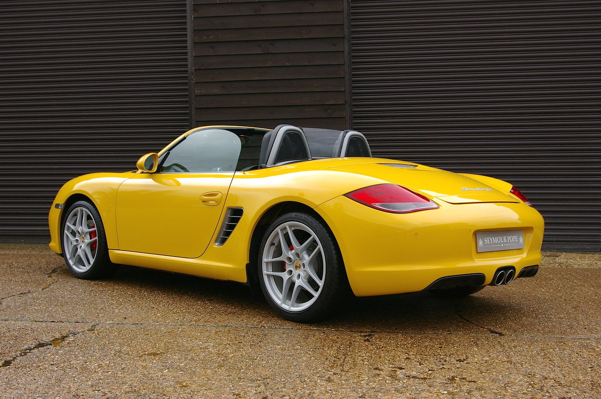 2010 Porsche 987 Boxster S 3.4 24V 6 Speed Manual (27,323 miles) SOLD (picture 3 of 6)