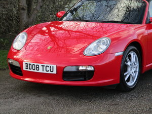 2008 Stunning Boxster. Low Miles. Full Porsche / Specialist Histo For Sale