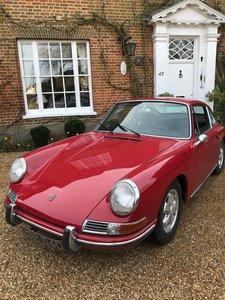 1966 LHD Porsche 912 coupe SOLD
