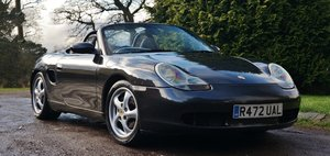1998 PORSCHE BOXSTER SPORTTECHNIK + M030 BLACK PEARL 09 For Sale