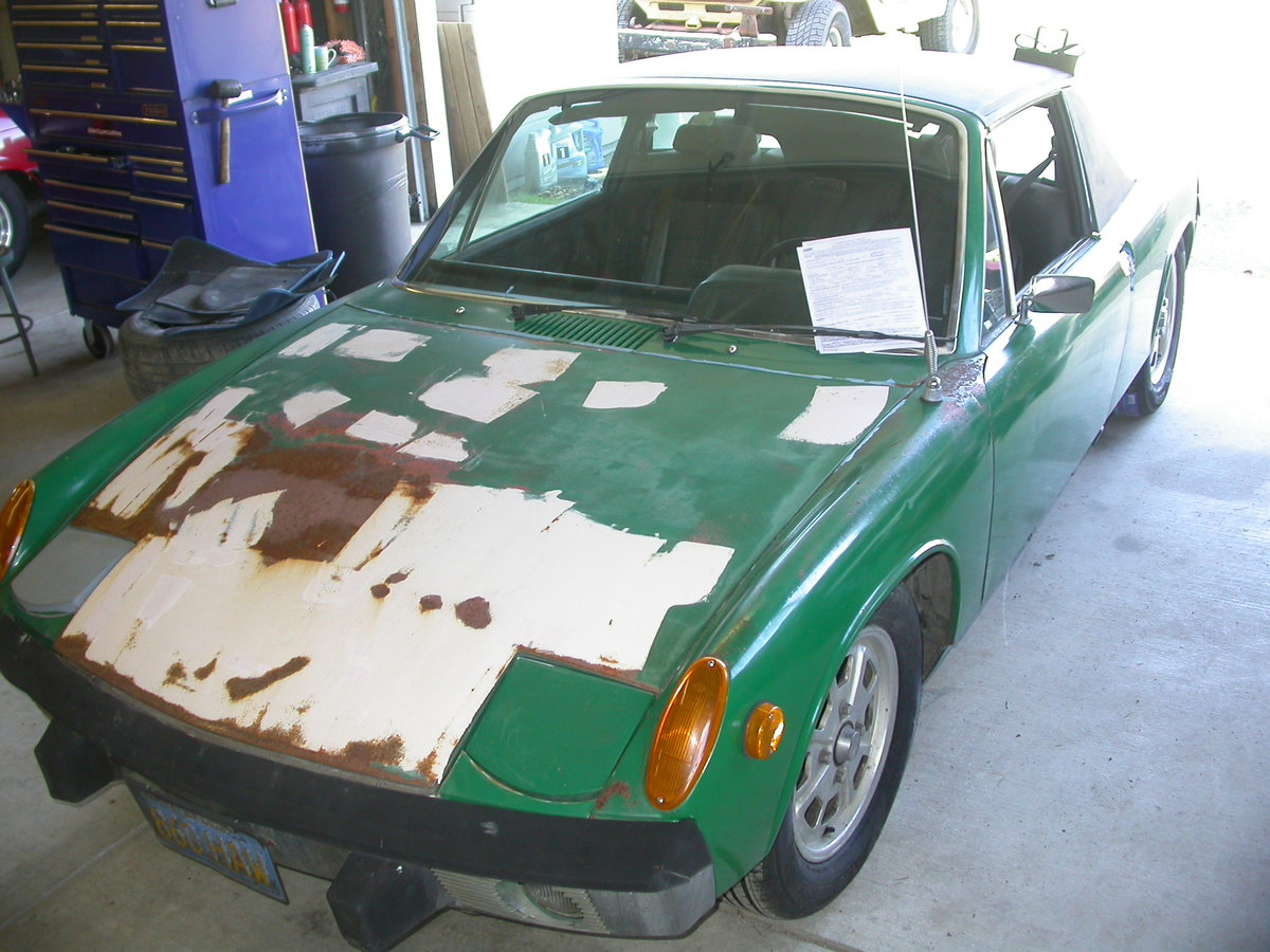 1972 CALIFORNIA 914  ROTFREE $9850 SHIPPING INCLUDED For Sale (picture 2 of 6)