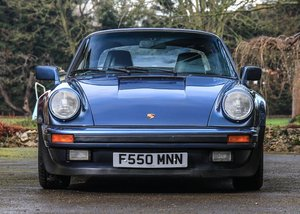 1989 Porsche 911 Turbo Cabriolet SOLD by Auction
