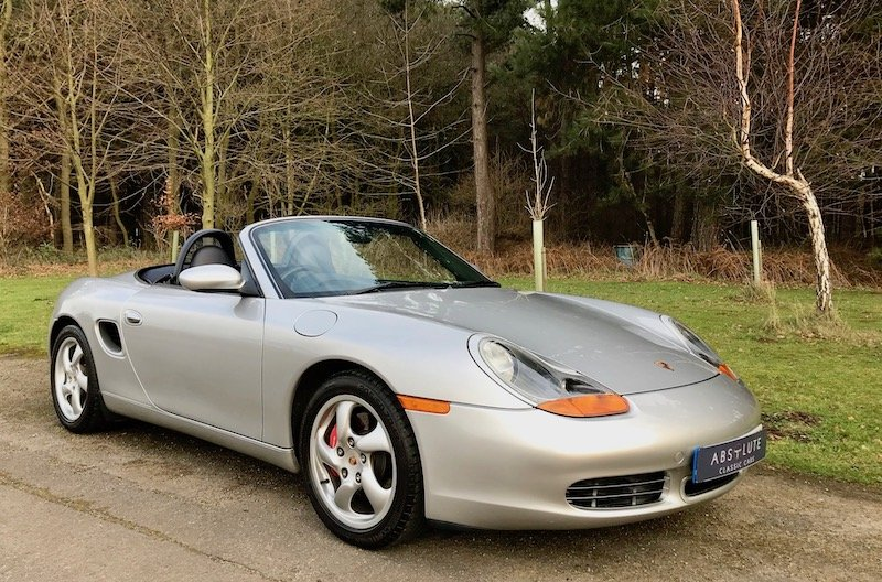 2002 Porsche Boxster (986) 3.2S Manual 1 owner, Low Mileage, FSH SOLD (picture 1 of 6)