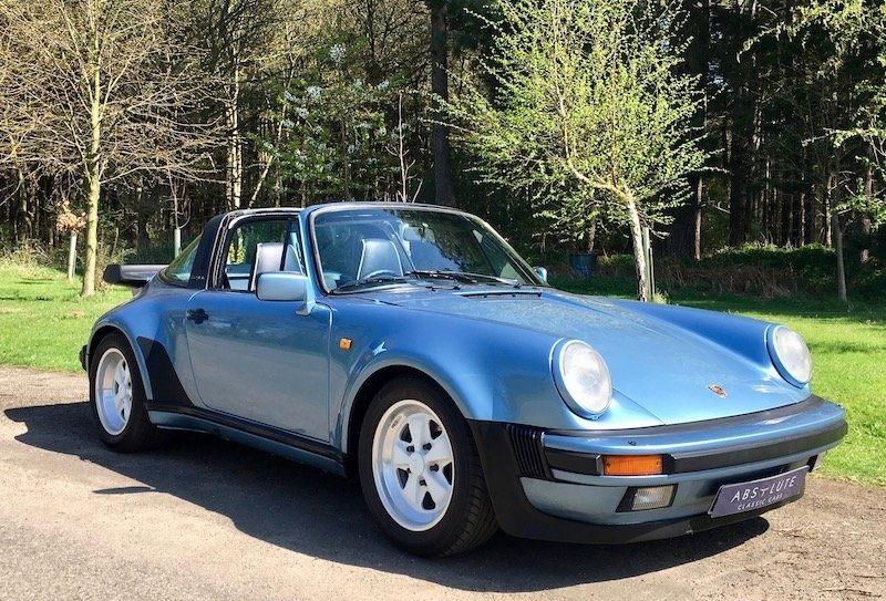 1986 Porsche 911 SuperSport - 3.2 Carrera, Turbolook, 1 of 220 For Sale (picture 1 of 6)