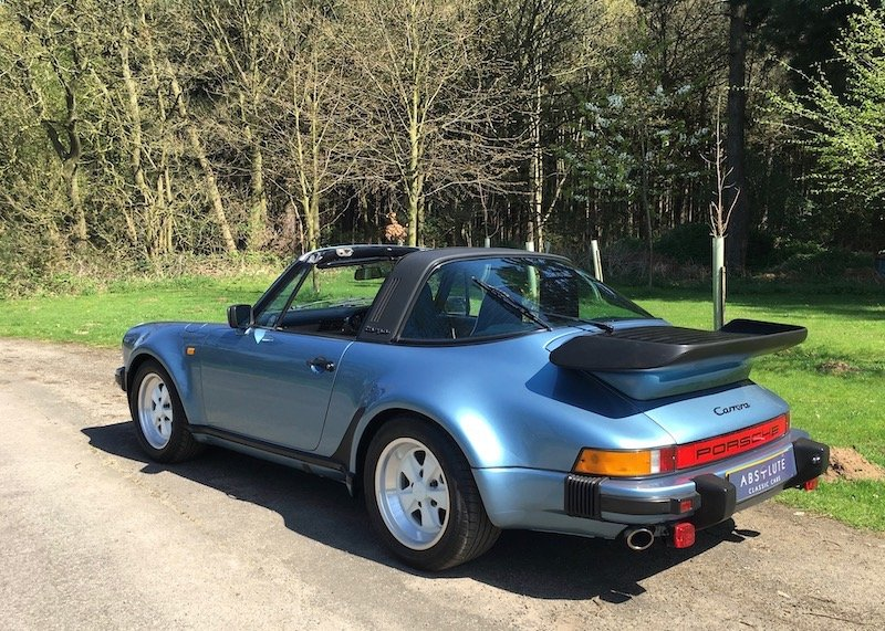 1986 Porsche 911 SuperSport - 3.2 Carrera, Turbolook, 1 of 220 For Sale (picture 2 of 6)