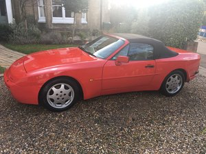 1989 Porsche 944 S2 Cabriolet For Sale