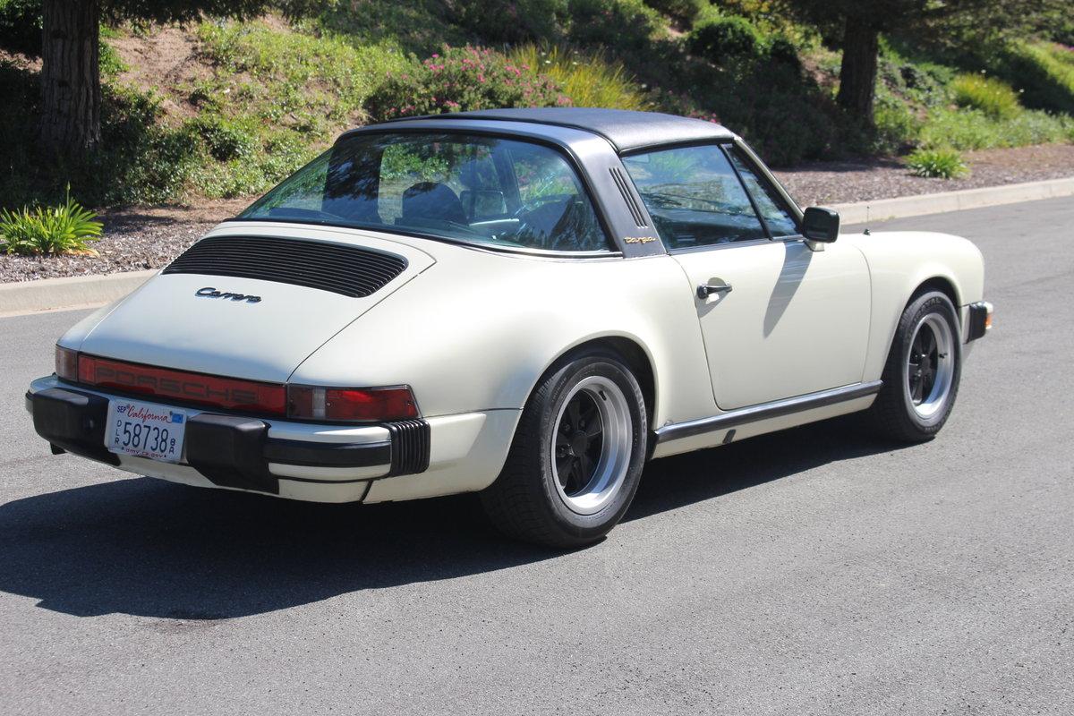 1984 Porsche 911 Targa California Car LHD SOLD (picture 3 of 6)