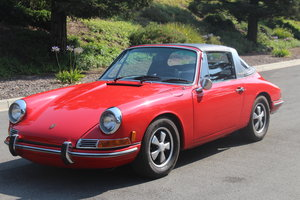 1968 Porsche 912 soft rear window, California car, matching# For Sale