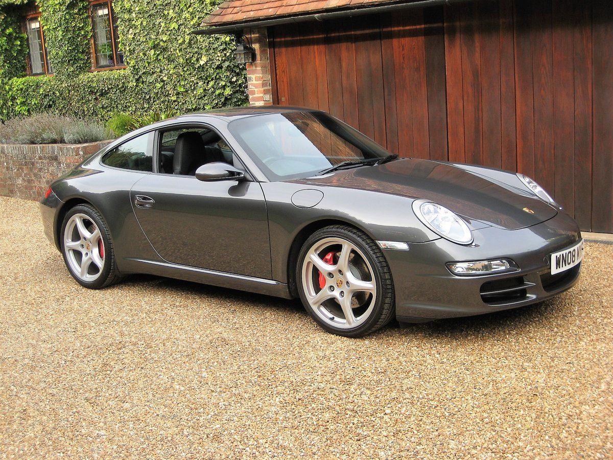 2008 Porsche 911 (997) 3.8 Carrera S With Only 24,000 Miles  For Sale (picture 1 of 6)