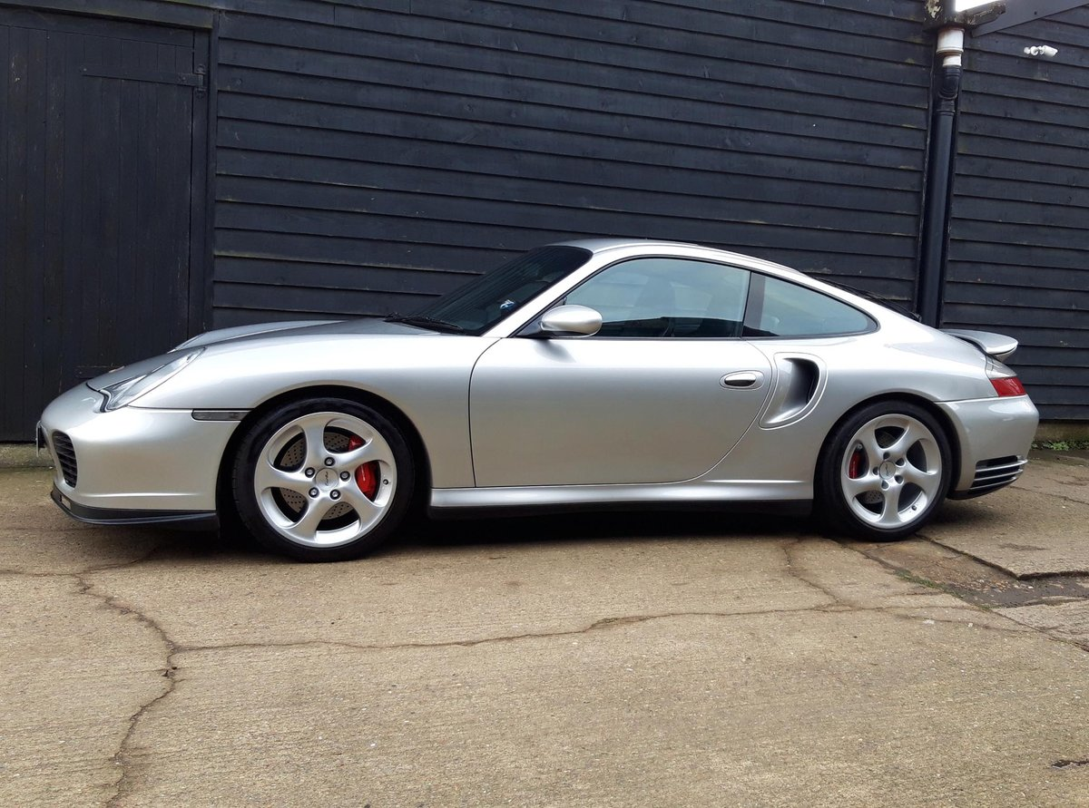 2001 PORSCHE 911/996 3.6 TURBO COUPE ( Low Mileage - F.S.H. )  SOLD (picture 1 of 6)