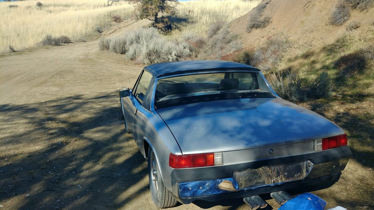 1974 Porsche 914 2.0 Appearance Package, California Car For Sale (picture 2 of 6)