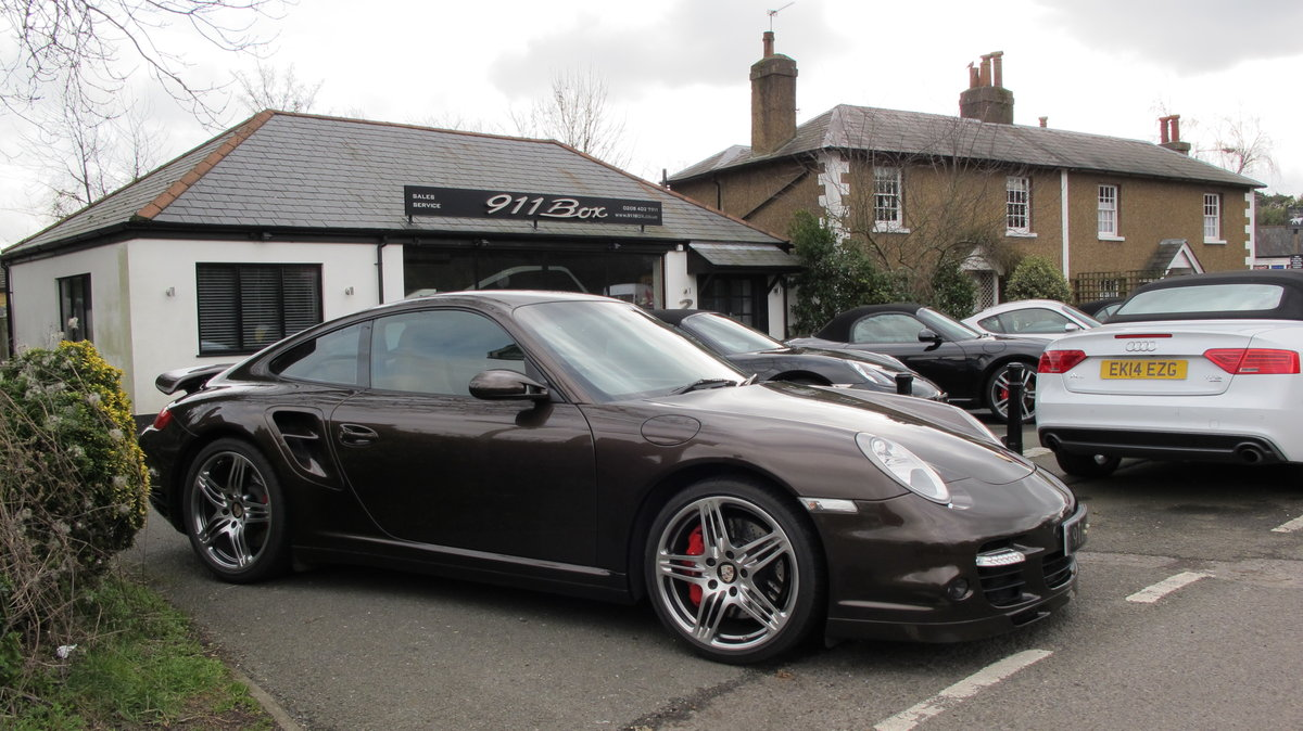 2008 Porsche 911 (997) Turbo Tiptronic Coupe Sports Exhaust For Sale (picture 1 of 6)